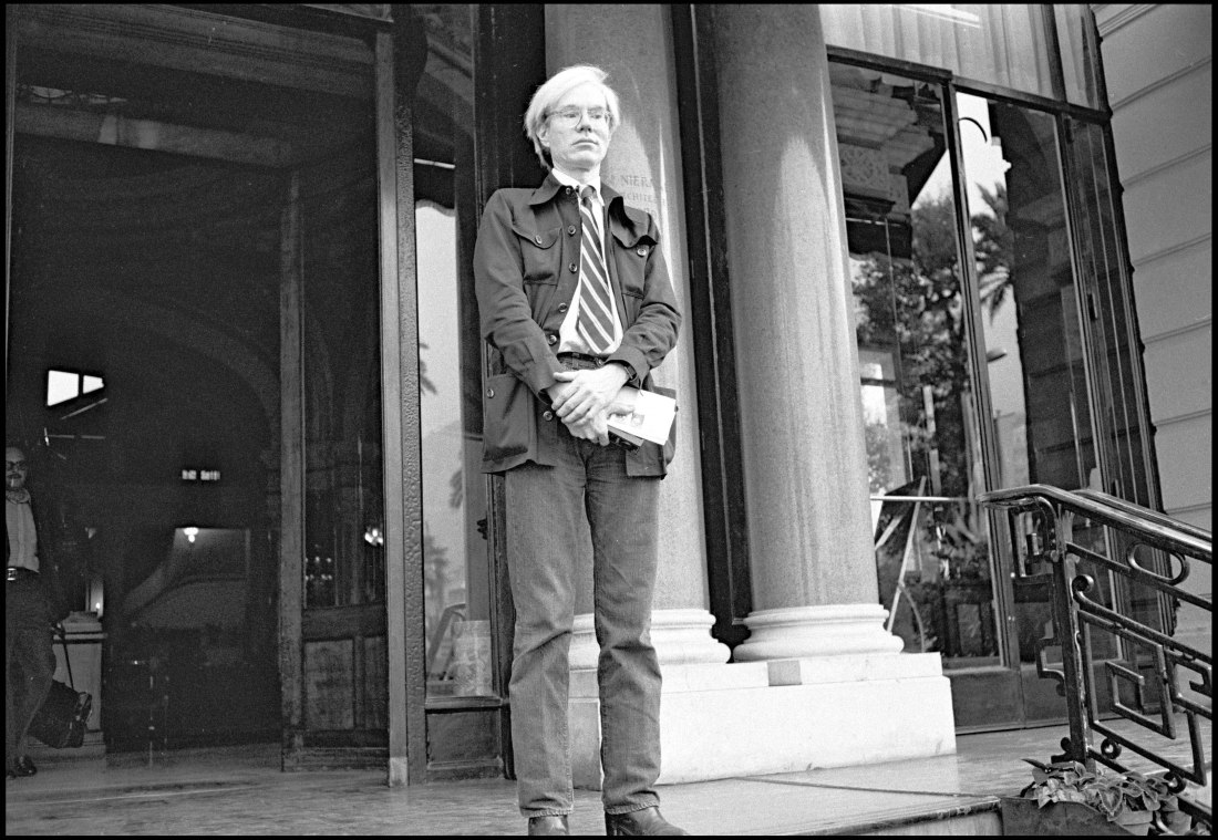 ARCHIVES - ANDY WARHOL A CANNES - 1974