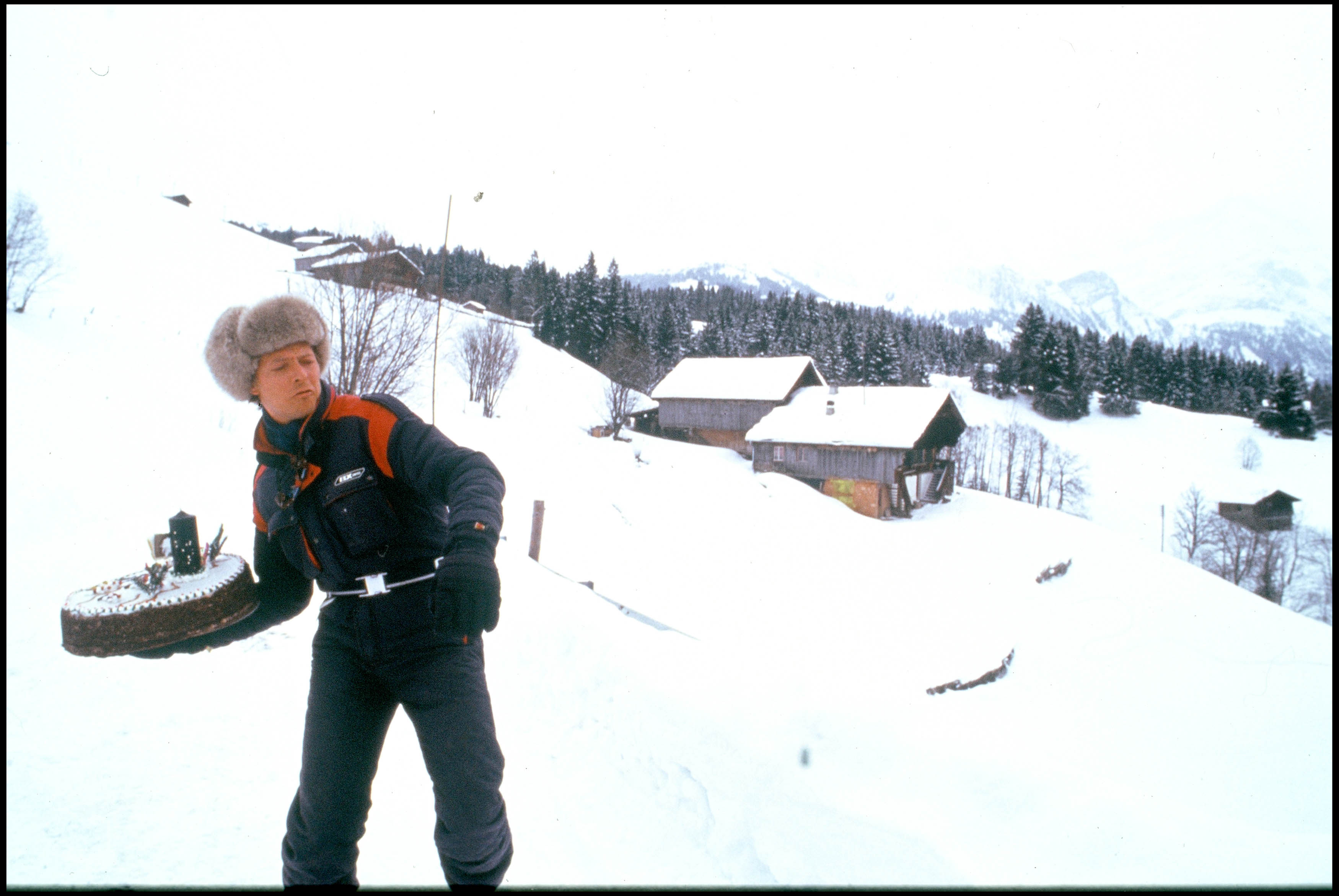 ARCHIVES - DAVID BOWIE FETE SES 40 ANS A GSTAAD - 1987