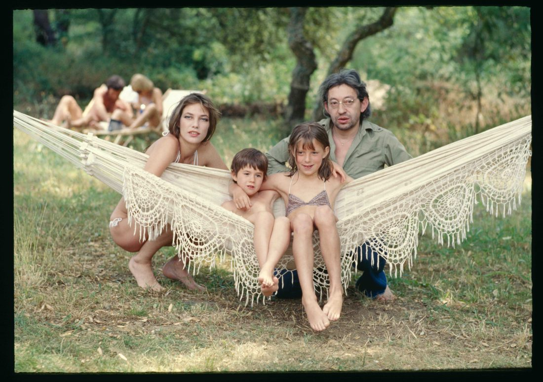 Gainsbourg Family 1977-1 couleur
